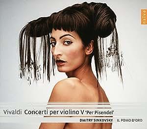 vivaldi concerti per violino vol 5 per pisendel amazon