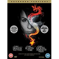 The Girl with the Dragon Tattoo / The Girl who Played with Fire / The Girl who Kicked the Hornet's Nest