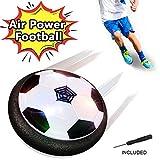 FAGORY Air Power Fußball Power Ball mit Schaum Stoßstange und LED Beleuchtung, Innen Aktivität Outdoor Training zum Jungen Mädchen Kinder, Geburtstag und Weihnachten Geschenk
