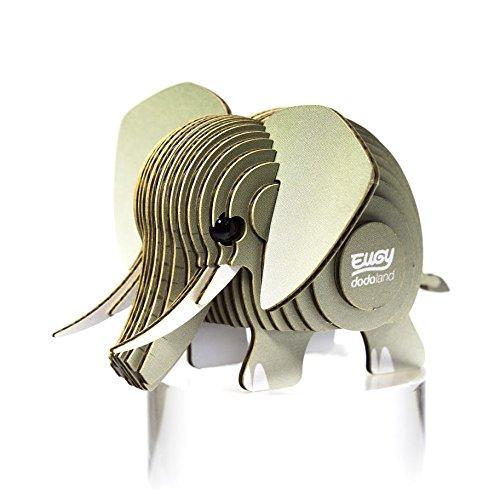 Dodo País 61124-Puzzle eugy-Elephant