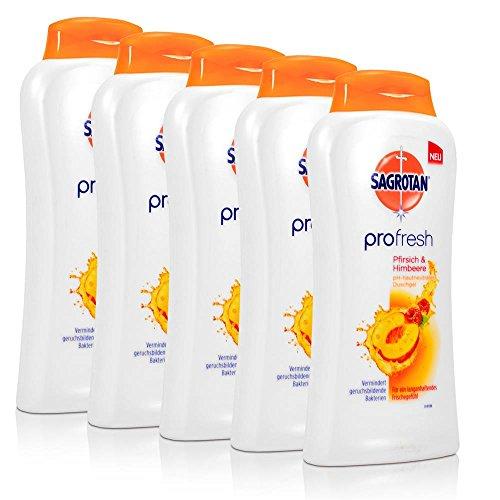 5x-sagrotan-profresh-duschgel-pfirsich-himbeere-250-ml
