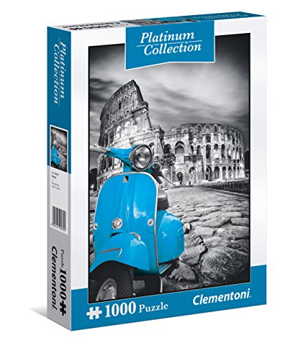 Clementoni- colosseo puzzle platinum collection, 1000 pezzi, 39399