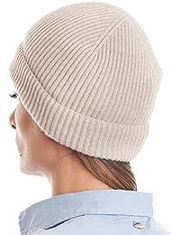 Amazon.it  cappello cashmere - Beige   Donna  Abbigliamento fcc292649c8b