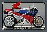 Schatzmix Honda RC30 1990 112PS Motorrad, Motor Bike, Motorcycle blechschild