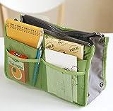 chinkyboo 12 tasche viti Organiser da viaggio borsa Organizer multiuso - grigio, colore blu, verde, rosa, rosso vinaccia, arancione con logo chinkyboo sacco protettivo come regalo, no.3, Cosmetic bag