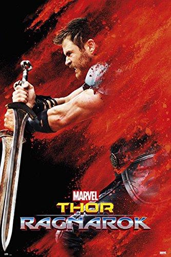 Close Up Marvel Thor Ragnarok Poster Thor (60cm x 91,5cm) + Ü-Poster