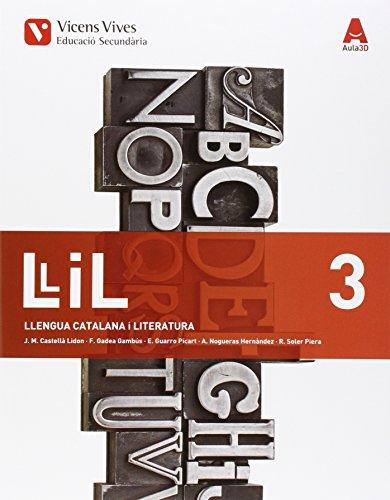 Llengua catalana 3r.eso editado por Vicens vives