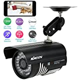 KKmoon HD H.264 720P IP Cámara de Vigilancia CCTV P2P 1/4