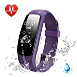 Heart Rate Fitness Tracker Watch Lintelek Updated Activity Tracker With Multiple Sports Modes IP67 Waterproof Touch Screen Smart Pedometer For Android And IOS Smart Phones