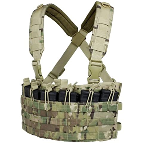 CONDOR MCR6-008 Rapid Assault Chest Rig MultiCam