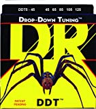 Dr Strings ddt545 45–125 Medium Set Handmade Drop Down Tuning beschichtet Strings