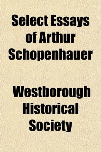 Select Essays of Arthur Schopenhauer