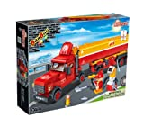 Little Builders, Fun Construction Present for Boys Age 5+ Xmas or Birthday Fun Number One 438 Piece Loading Truck & 2 ToBee Mini Figures - Intergrate With Other Leading Brands