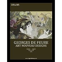Georges de Feure: Art Nouveau Designs (English Edition)