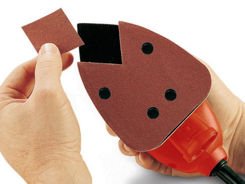 BLACK+DECKER KA161BC Mouse Detail Sander with Accessories