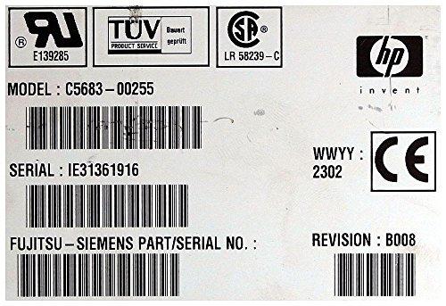 Streamer HP C5683-00255 SureStore DAT40i schwarz ID9203 - 2
