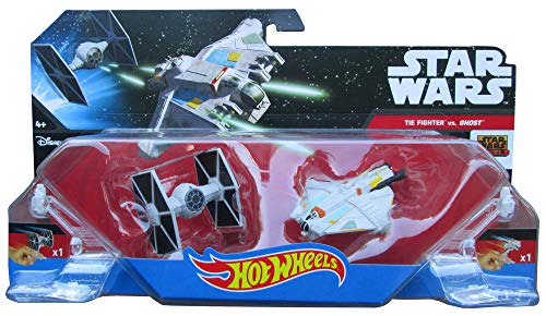 Hot Wheels Star Wars Starships Rebels Ghost vs. TIE Fighter 2-Pack by Hot Wheels