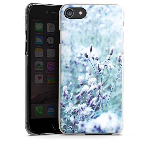 Apple iPhone 6 Plus Silikon Hülle Case Schutzhülle Wiese Blumen Natur Hard Case transparent