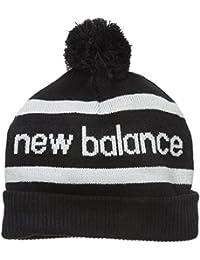 Hommes New Balance Snowbill Calotte In noir-bande détail-retroussé Hem-Pom To
