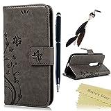 Funda Motorola Moto G3 (3ª Generación),Case Libro de PU Leather Cuero impresión - Mavis's Diary...