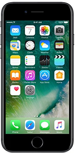 (CERTIFIED REFURBISHED) Apple iPhone 7 (Black, 128GB)