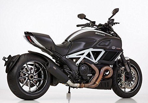 ducati diavel auspuff Shark Auspuff Endschalldämpfer DSX-10 Ducati mit EG/BE Schwarz Matt Ducati Diavel