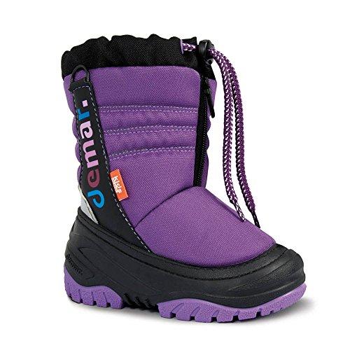 Demar Bottes d'hiver avec doublure en laine pour enfant Teddy Violet - Violet