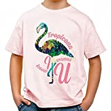 Tropicana Cooles Party Kinder T-Shirt_rosa_158/164