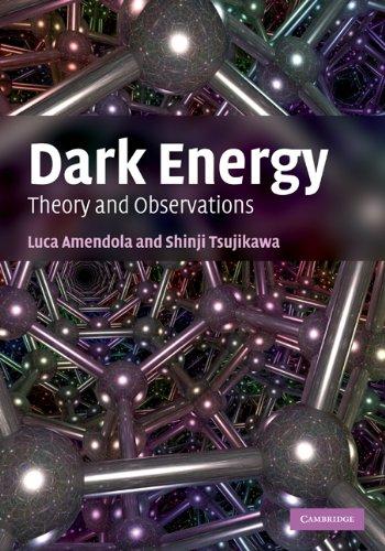 Dark Energy (English Edition) por Luca Amendola