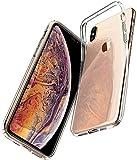 Spigen 065CS25122 Liquid Crystal für iPhone XS MAX Hülle, Transparent TPU Silikon Handyhülle...
