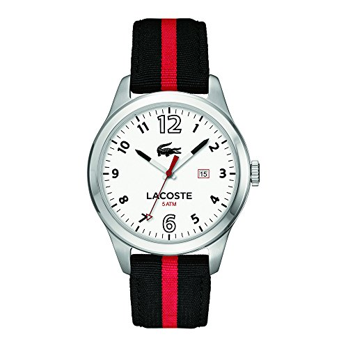 Lacoste Mens Auckland Analog Casual Quartz Watch 2010723