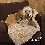 Scruffs Pet Dog Snuggle Comfort Blanket Duvet Reversible Design In 3 Colours (Chocolate) by Scruffs