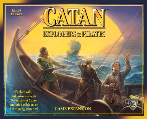 Mayfair Games Catan Explorers and Pirates Expansion Board Game by Mayfair Games TOY (English Manual)