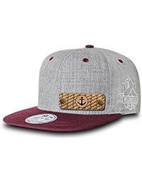 383b028ef96d RUBDE Cap2   Individuelle Snapback Cap Basecap Kappe mit Lederpatch,  NFC-Sticker und QR-Code - verschiedene Farben   Größen…
