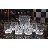 King International Glasses| Wine Glasses With Wne Cooler Set Of 1 Pieces Set Of 6 Glasses |250 Ml