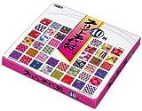 Origami-Papier - Origami-Papier gemustert Set (Chiyogami) - Print Chiyogami - 40 Muster sortiert - 5 Blätter pro Muster - 200 Blatt - 15cm x 15cm