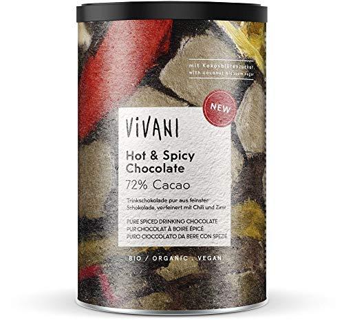 Vivani Bio Hot & Spicy Chocolate, m. Chili, Zimt, KBZ (1 x 280 gr)