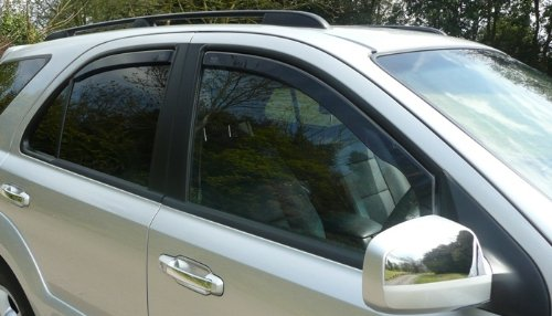 HEKO-28232 SEAT LEON mk2 2005 - up Heko Wind Deflectors Tinted 4pcs set