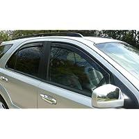 HEKO, 15227 posteriori solo-Deflettori posteriori per Ford Focus (modelli 2005-2010), 5 porte, station