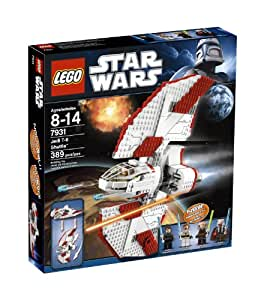 LEGO Starwars navette Jedi T-6 - 389pcs.