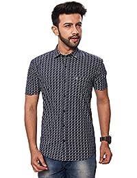 [Sponsored]Paris Plus Charming 100% Cotton Half Sleeve Casual Men Shirt