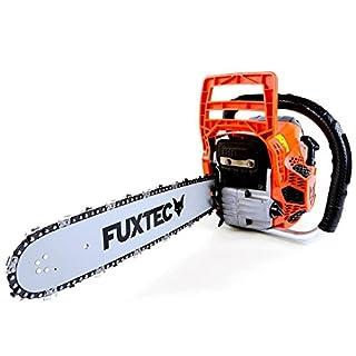 FUXTEC Benzin Kettensäge FX-KS146 Schwert 38 cm Kette 46 cc Motorsäge MS Motorkettensäge PS Säge