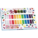 Oyumaru Reusable Modelling Compound Assorted Colours 24 Pack