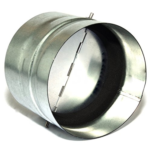 Preisvergleich Produktbild Wickelfalz Rückschlagklappe Verbindungsstück Rückstauklappe Feder Wickelfalzrohr Ø 500 mm