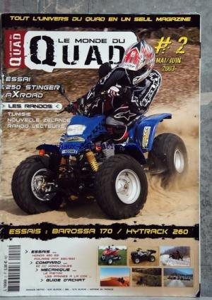 Quad Hytrack - MONDE DU QUAD (LE) [No 2] du
