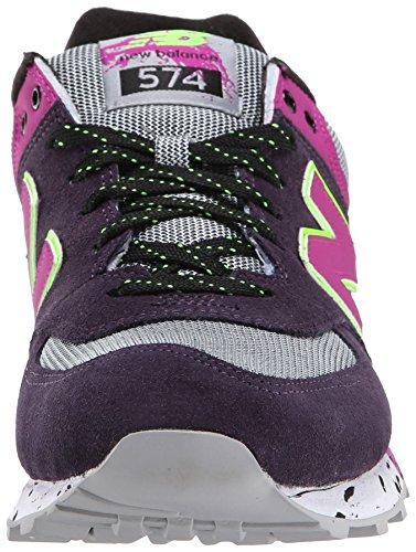 New Balance WL 574 OPP Purple Pink Purple