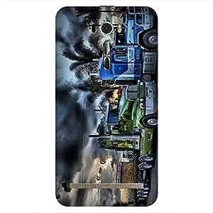 Bhishoom Printed Hard Back Case Cover for Asus Zenfone 2 Laser ZE601KL - Premium Quality Ultra Slim & Tough Protective Mobile Phone Case & Cover