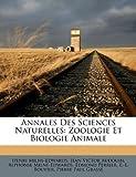 Image de Annales Des Sciences Naturelles: Zoologie Et Biologie Animale