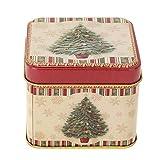 Chansted Astuccio per Biscotti di Caramelle Scatola di Latta Mini Regalo di Natale (MG1861.04)