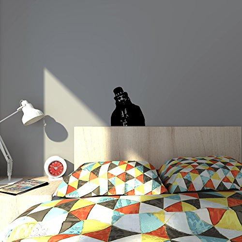 Cool Scary Papa Legba American Horror Story design-Facile da applicare da parete in vinile freschi e divertenti decorazioni per la casa miglioramento e ottimo regalo di compleanno per pareti, finestre, automobili e furgoni: Laptop, MacBook, computer e specchi